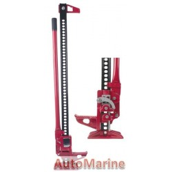 "High Lift Farm Jack - 48"" (121cm) with Steel Base"