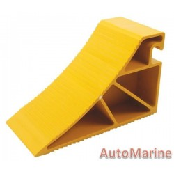 Heavy Duty Plastic Wheel Chock (20 Ton)