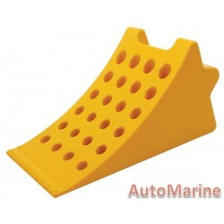 Plastic Wheel Chock for Trucks and Busses