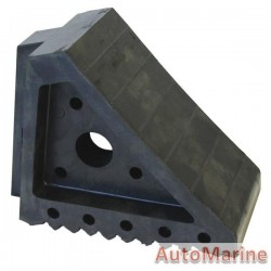Rubber Heavy Duty Wheel Chock
