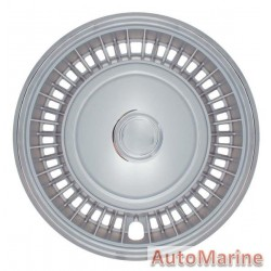 "15"" Chrome / Silver Wheel Cover Set"
