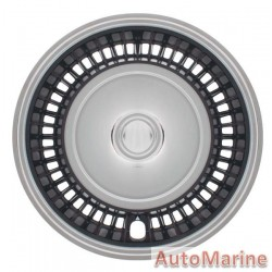"15"" Chrome / Black Wheel Cover Set"
