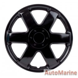 "15"" Ice Black Wheel Cover Set"