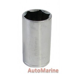 "Tube Socket - 1/2"" Drive - 6 Point - 32mm"