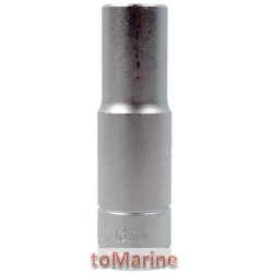 "Tube Socket - 1/2"" Drive - 12 Point - 13mm"