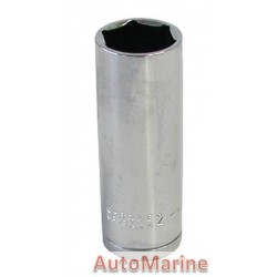 "Tube Socket - 1/2"" Drive - 6 Point - 21mm"