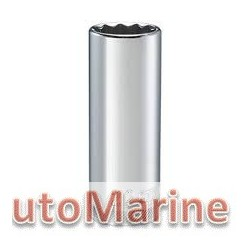 "Tube Socket - 1/2"" Drive - 12 Point - 22mm"