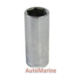 "Tube Socket - 1/2"" Drive - 6 Point - 23mm"