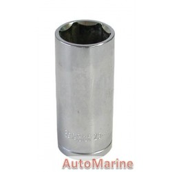 "Tube Socket - 1/2"" Drive - 6 Point - 25mm"
