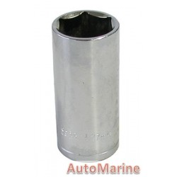 "Tube Socket - 1/2"" Drive - 6 Point - 27mm"
