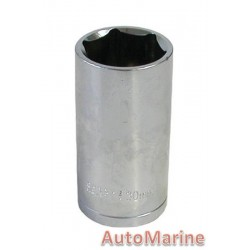 "Tube Socket - 1/2"" Drive - 6 Point - 30mm"