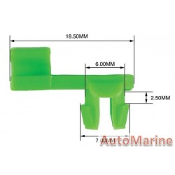 Panel Clip - Right Hand Rod - 3.6mm