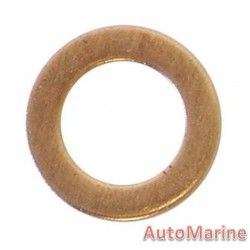 Copper Washers 10mm (50 Pieces)