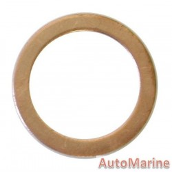 Copper Washer 18mm (50 Pieces)