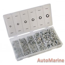 Assorted Spring Washers (800 Piece)