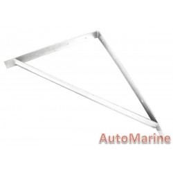 L Bracket with Support - 500 x 400 x 40mm