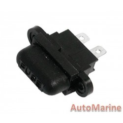 Fuse Holder for Plug In Fuse - Waterproof - Outboard