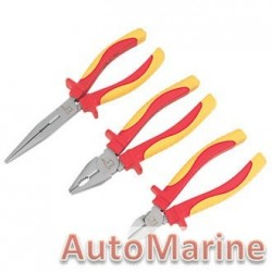 "3 Piece 4.5"" Mini Insulated Plier Set"