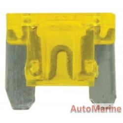 2 Pin Blade Fuse - 20 Amp - 100 Pieces