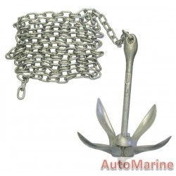 4kg Heavy Duty Folding Anchor Kit