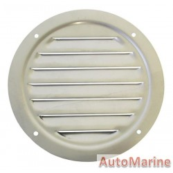 Round Louvered Vent - 122mm