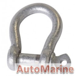 Bow Shackle - Galvanised - 1400kg