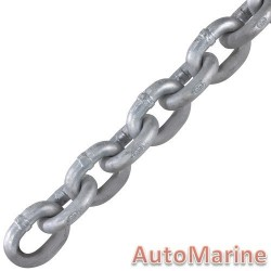 Galvanised Medium Link Chain - 6mm x 30m