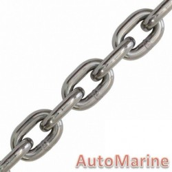 Stainless Steel Medium Link Chain - 8mm x 5m