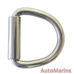 D Ring with Roller - 66mm - 90kg