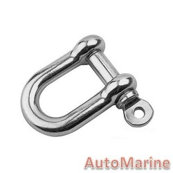 D Shackle - Stainless Steel - 100kg