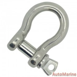 Bow Shackle - Stainless Steel - 90kg