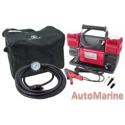 Heavy Duty Air Compressor & Tyre Inflator - 12 Volt