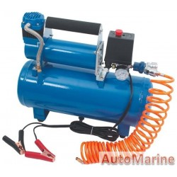 Compressor with 8l Tank - 12 Volt
