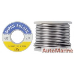Solder with Solid Core - 2mm