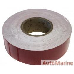 Reflective Tape - Red - 50mm x 45m