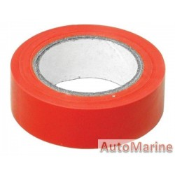 PVC Insulation Tape - Red - 10m