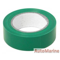 PVC Insulation Tape - Green - 10m
