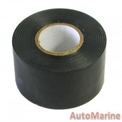 PVC Pipe Wrapping Tape - Black - 50mm x 30m