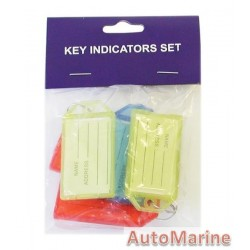 Key Tags - 6 Pieces