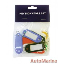 Key Tags - 10 Pieces