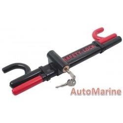 Steering Lock - Double Rod