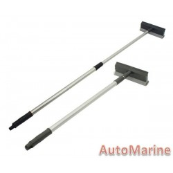 Windscreen Squeegee - Telescopic Aluminium Handle
