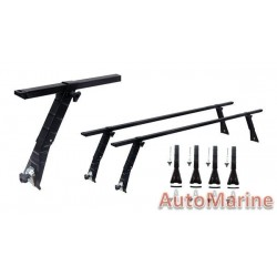 Standard Roof Bars with Gutter Mounting - 60""