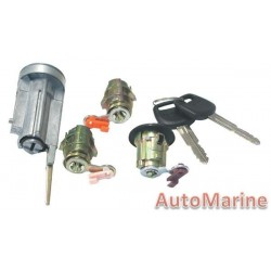 4 Piece Lock Set for Corolla 88 - 96