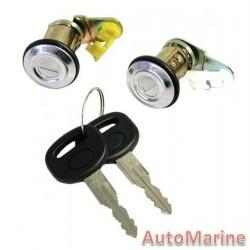 Sentra MK1 / 1 Tonner Door Lock Set