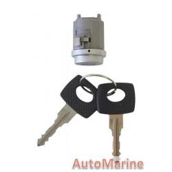 W123 / W126 / C123  / C126 Ignition Barrel with Keys