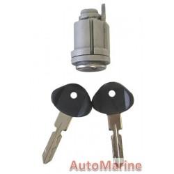 W124 / W201 / C124  / A124 Ignition Barrel with Keys