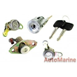 Corolla AE110 Ignition Barrel and Lock Set with Keys