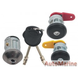 Rocam Ignition Barrel and Door Lock Set