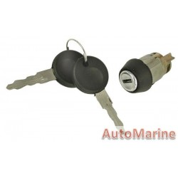 Golf / Fox / Jetta Ignition Barrel with Keys